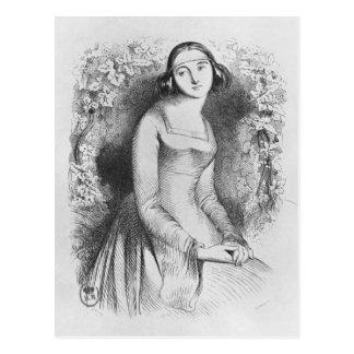 illustration from 'Lettres d'Heloise et Postcard