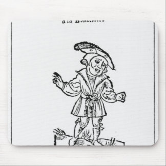 Illustration from 'Pantagruel' Mouse Mat