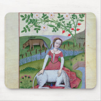 Illustration from the 'Book of Simple Medicines' Mouse Pad
