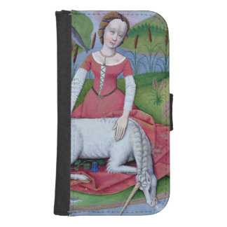 Illustration from the 'Book of Simple Medicines' Samsung S4 Wallet Case