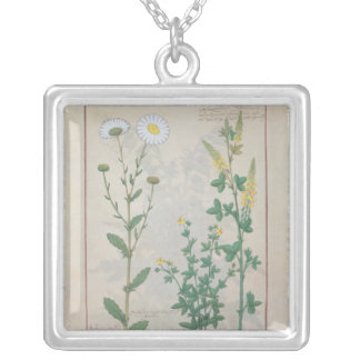 Illustration from 'The Book of Simple Square Pendant Necklace