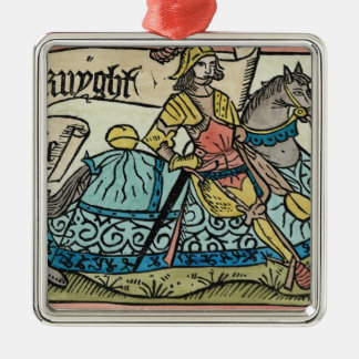 Illustration from 'The Canterbury Tales' Christmas Ornament