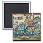Illustration from 'The Canterbury Tales' Fridge Magnets