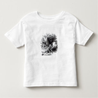 Illustration from 'The Last of the Mohicans' Toddler T-Shirt