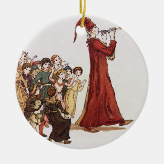 Illustration from The Pied Piper of Hamelin Book Christmas Ornament