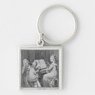 Illustration from 'The Sorrows of Werther' Key Ring