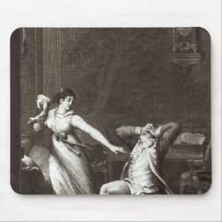 Illustration from 'The Sorrows of Werther' Mouse Pad