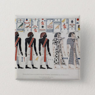Illustration from the Tombs of the Kings at 15 Cm Square Badge