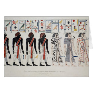 Illustration from the Tombs of the Kings at Card