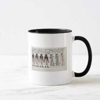 Illustration from the Tombs of the Kings at Mug
