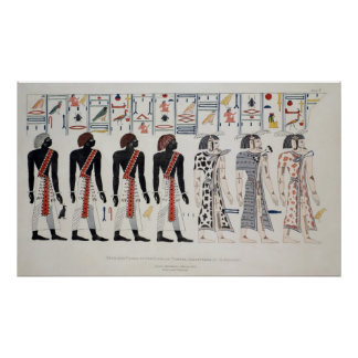 Illustration from the Tombs of the Kings at Poster