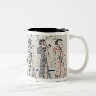 Illustration from the Tombs of the Kings at Two-Tone Coffee Mug