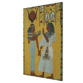 Illustration from the Tombs of the valley Canvas Print