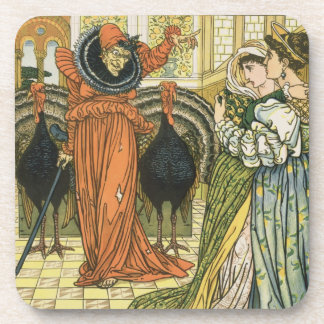 Illustration from The Yellow Dwarf, first edition Beverage Coaster