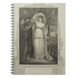 Illustration from 'Troilus and Cressida', Act III, Spiral Notebooks