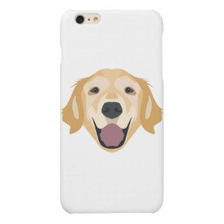 Illustration Golden Retriever iPhone 6 Plus Case