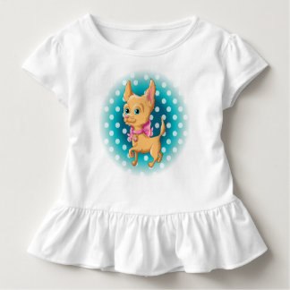 Illustration of a cute dog Chihuahua Toddler T-Shirt