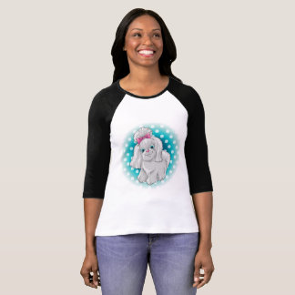 Illustration of a cute dog yorkshire terrier T-Shirt
