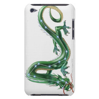 Illustration of a dragon with the Dragon (Draco) iPod Touch Case-Mate Case