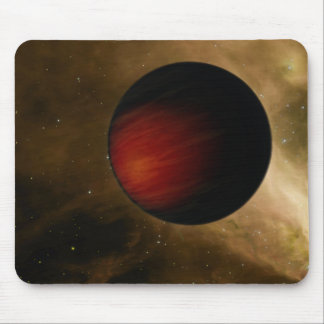 Illustration of a hot Jupiter called HD 149026b Mouse Pad