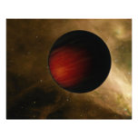 Illustration of a hot Jupiter called HD 149026b Photographic Print