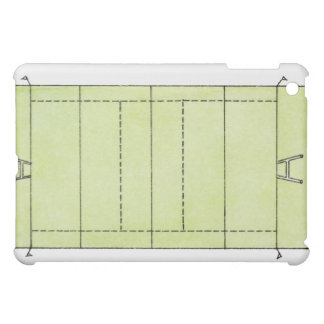 Illustration of a rugby pitch iPad mini cover