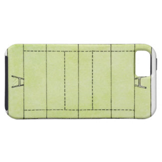 Illustration of a rugby pitch iPhone 5 case