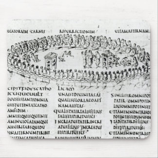 Illustration of a scene from one of the Psalms Mouse Pad