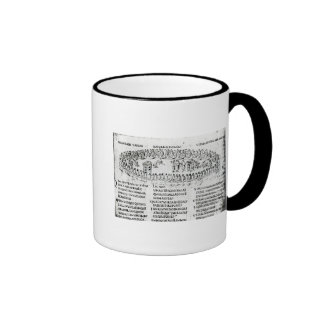 Illustration of a scene from one of the Psalms Coffee Mugs