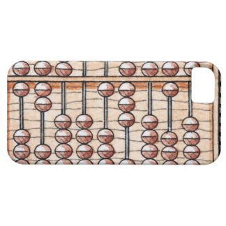 Illustration of abacus iPhone 5 cover
