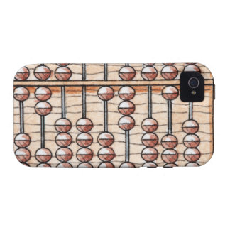 Illustration of abacus Case-Mate iPhone 4 cover
