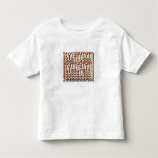 Illustration of abacus toddler T-Shirt