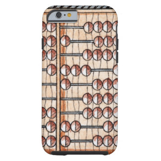 Illustration of abacus tough iPhone 6 case