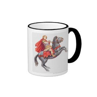 Illustration of Alexander the Great Ringer Mug