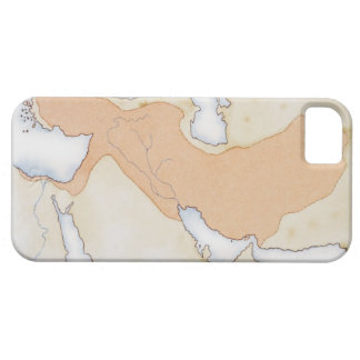 Illustration of Alexander The Great's Empire iPhone 5 Cases