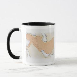Illustration of Alexander The Great's Empire Mug