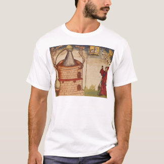 Illustration of an alchemist at work T-Shirt