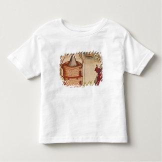 Illustration of an alchemist at work toddler T-Shirt
