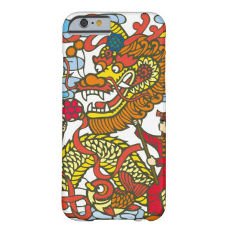 Illustration of Chinese dragon in Chinese New Barely There iPhone 6 Case