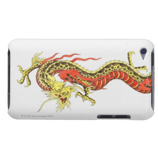 Illustration of Chinese dragon iPod Touch Case-Mate Case