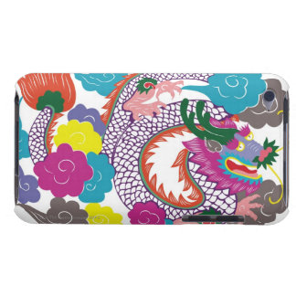 Illustration of Chinese dragon with vibrant 2 Case-Mate iPod Touch Case