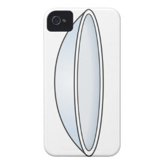 Illustration of Contact Lens iPhone 4 Covers
