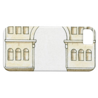 Illustration of early 4th century Arch of Janus iPhone 5 Cover