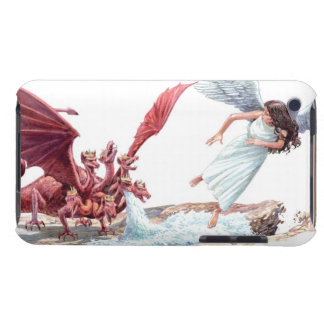 Illustration of Earth parting to swallow water Barely There iPod Cover