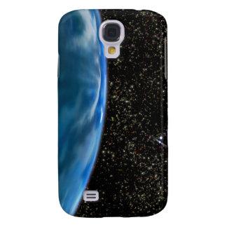 Illustration of Earth's horizon Galaxy S4 Case
