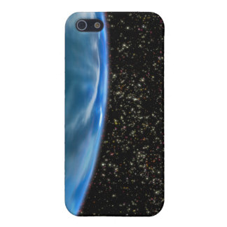 Illustration of Earth's horizon iPhone 5/5S Case