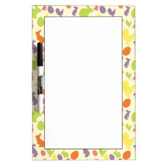 Illustration of Easter background Dry Erase Board