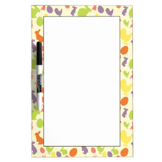 Illustration of Easter background Dry Erase White Board