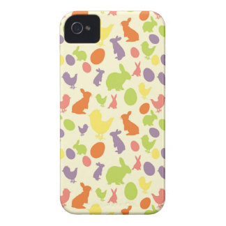 Illustration of Easter background iPhone 4 Cover