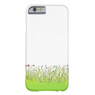Illustration of grass on a Iphone cover. Barely There iPhone 6 Case